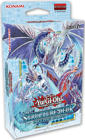 Yu-Gi-Oh! Structure Deck Freezing Chains 1.Auflage *Deutsche Version*