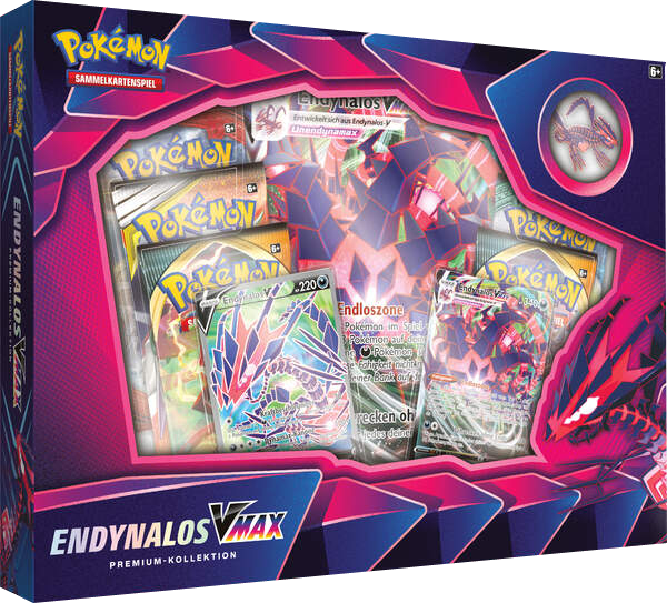 Pokemon Endynalos-VMAX Premium Kollektion *Deutsche Version*