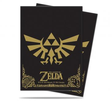 Ultra Pro The Legend of Zelda: Black & Gold Deck Protector (65 Sleeves)