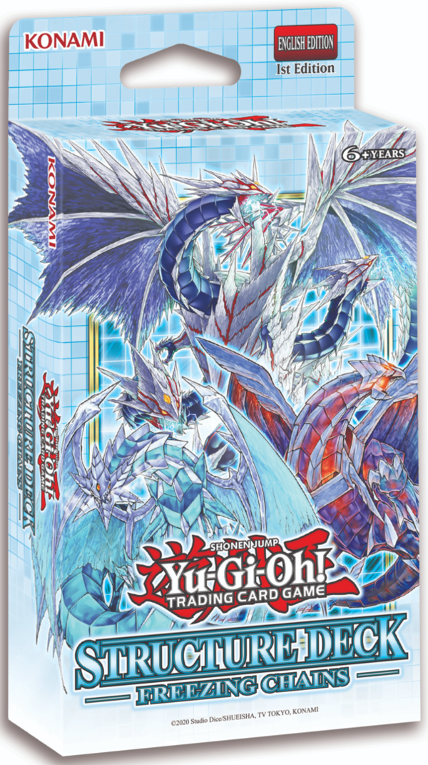 Yu-Gi-Oh! Structure Deck Freezing Chains 1.Auflage *Englische Version*